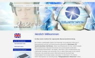 Bild Webseite BLUE LINERS Institut für angewandte Bewustseinsforschung München
