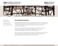 Website ksp consultants Treuhand- und Steuerberatungsgesellschaft