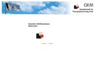 Bild Webseite GKM Gesellschaft für Therapieforschung München