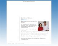 Website Kleimann Rainer Dentallabor