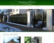 Landhof Walter Zaune Tore Tangstedt Zaune
