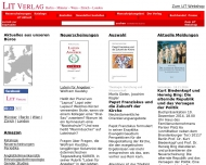 Bild LIT Verlag Hopf Wilhelm Dr. Verlag