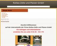 Rollwa Zelte und Planen Hanau | Öffnungszeiten | Telefon