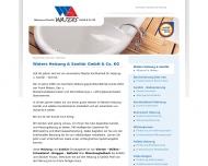 Website Heizung-Sanitär Waters