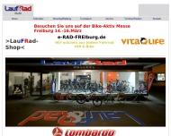 Website Lauf&Rad Guth