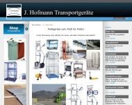 Website J. Hofmann Transportgeräte Heusenstamm