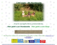Bild Webseite Hundeschule LesLoups Spiesen-Elversberg