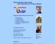 Malermeister Berger - Maler in Dresden - Arbeiten an der Fassade, Dekorieren, Holzschutzarbeiten, Fu...