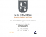 Bild Webseite Lehnert Malerei Hamburg