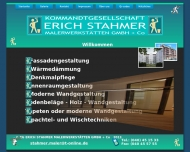 Bild Webseite Stahmer Erich Malerwerkstätten Hamburg