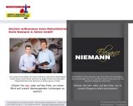 Bild Webseite Horst Niemann & Söhne Hamburg