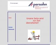 Bild Webseite Persohn Max Lübeck