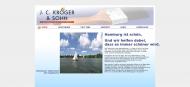 Bild Webseite Kröger J.C. & Sohn Hamburg