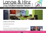 Bild Webseite Lange und Hinz Hamburg