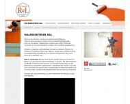 Bild Webseite Rieß + Lauenstein Malereibetrieb Hamburg