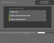 Bild Webseite Malereibetrieb Attenberger Hamburg