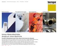 Bild Webseite C. A. Platow & Sohn Malereibetrieb Hamburg