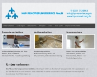Bild Webseite H & P Renovierung Service Köln
