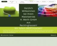 Bild Werth GmbH H. Malerbetrieb