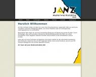 Bild Webseite Janz Malerwerkstätten Kerpen