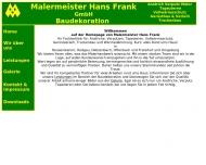 Bild Hans Frank GmbH Verputz und Anstrich