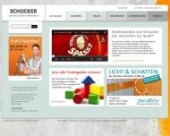 Website Malerfachbetrieb Schucker Fritz