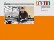 Bild Webseite JEGLE Karlsruhe