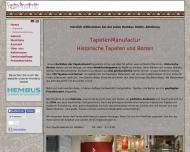Bild Webseite Hembus Maler- und Stuckwerkstätten Frankfurt