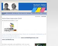 Bild Webseite Norbert Dieter, Malermeister, Frankfurt