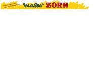 Bild Webseite Maler Zorn Karlsruhe