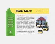 Website Maler Gros
