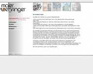 Website Maler Wehringer