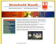 Reinhold Knoll GmbH - Unternehmen f?r Malerei und Betonsanierung