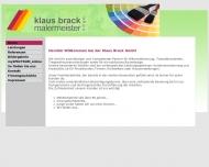 Bild Webseite Klaus Brack Nürnberg