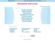 Bild Webseite Romanow Hamburg