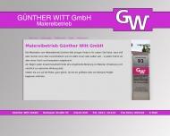 Bild Malereibetrieb Günther Witt GmbH, Inh. Christian Pahlke, Ihr Maler ...
