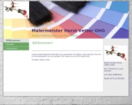 Bild Webseite Vetter Horst Malermeister Baudekoration Frankfurt