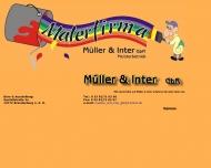 Bild Malerfirma Müller und Inter GbR