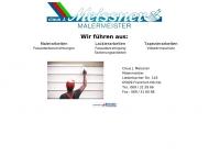 Bild Webseite Meissner Claus-Jürgen Malermeister Frankfurt