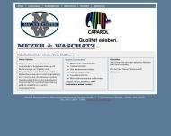 Bild Webseite Meyer & Waschatz Nachf. Hamburg