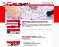 Bild Webseite Malerei Lepke Hamburg