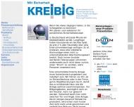 Bild Webseite Kreibig Alarmanlagen Berlin