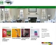 Bild Webseite Jesse Herbert Malereibetrieb Lübeck
