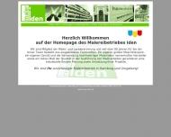Bild Webseite Iden Hans-Ulrich Malermeister Hamburg