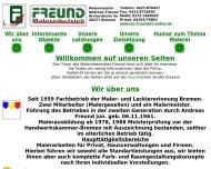 Website Freund Andreas
