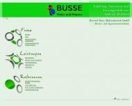 Bild Webseite Busse Dietrich Malereibetrieb Tangerhütte
