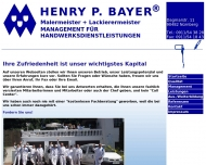 Website Henry Bayer