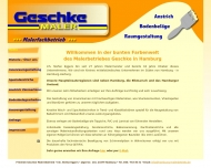 Bild Webseite Friedrich Geschke Malereibetrieb Hamburg