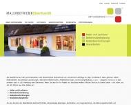 Bild Webseite Malerbetrieb Eberhardt Sylt-Ost