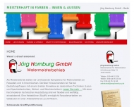 Bild Webseite Jörg Homburg Berlin